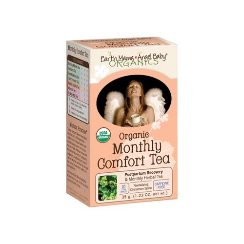 Earth Mama Angel Baby Monthly Comfort Tea 16 Tea Bags front-920085