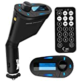 TRIXES Car MP3 Audio PLAYER FM Transmitter USB SD card and AUX in with Remote