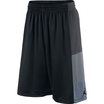 Buy Jordan Trillionaire Mens Basketball Shorts Black Grey 589109-010 by Jordan
