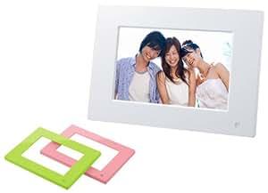 SONY デジタルフォトフレーム S-Frame E710 7.0型 内蔵メモリー128MB ホワイト DPF-E710/WI