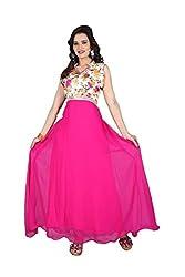 Nilkanth Enterprise Mastani Pink Gawn