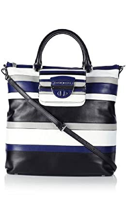 Graphic Stripe Tote