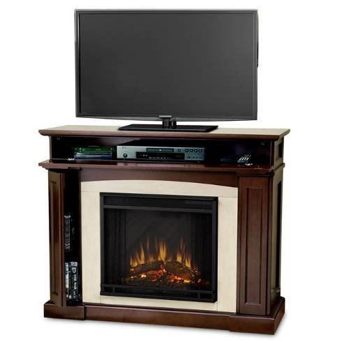 Real Flame Rutherford Electric Fireplace Dark Mahogany - 3710E-Dm