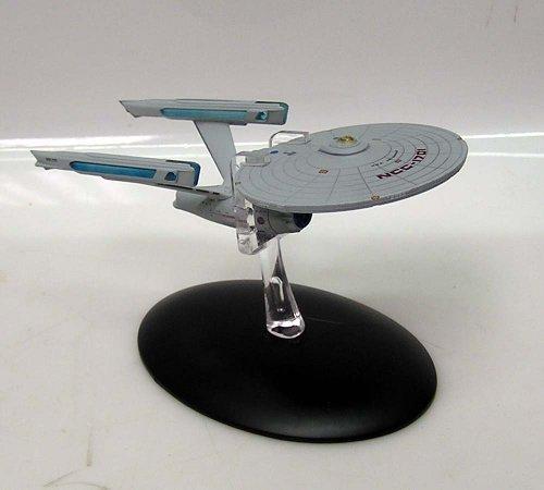 Star Trek USS Enterprise 1701 Refit Die Cast 5 Spaceship w Magazine