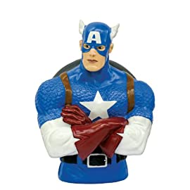 Marvel Captain America Bust Bank