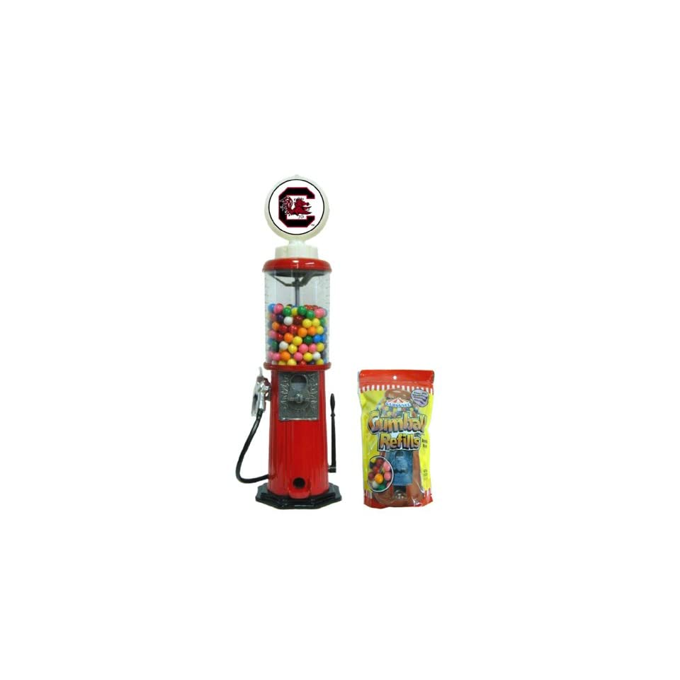 South Carolina Red Retro Gas Pump Gumball Machine Sports