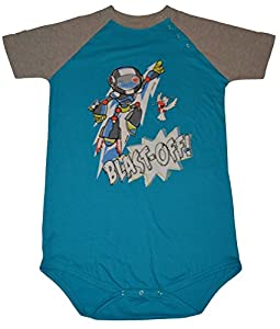 """Blast Off!"" Adult Baby Onesie by Cushy Bums Clothiers ABDL Diaper Lover from Cushy Bums Clothiers"