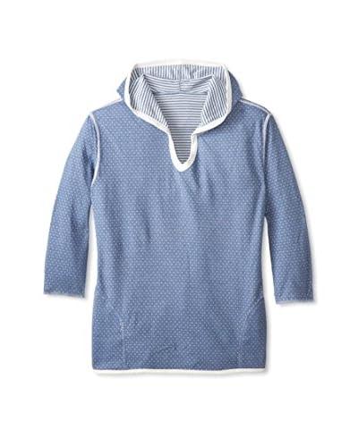 Anne Klein Women's Reversible Hoodie Pajama Top