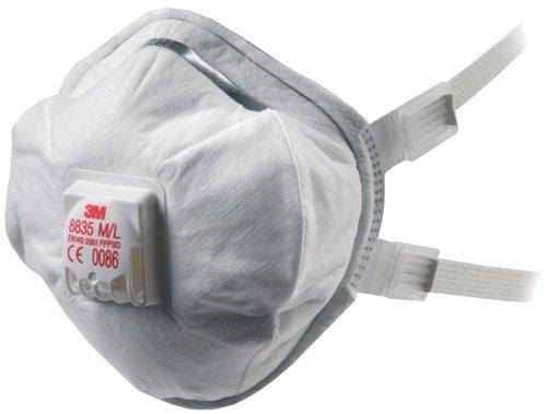 3M Deutschland GT500075145 8835 Respirator Mask M/L FFP3 D Pack of 5