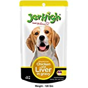 Jerhigh Chicken And Liver Gravy 120 Gm