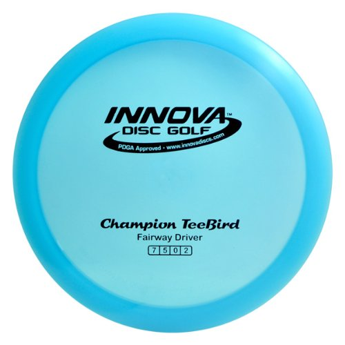 Innova Disc Golf I-Dye Champion TeeBird Golf Disc, 173-175gm (Colors may vary) (Teebird Champion compare prices)