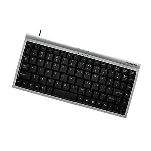 Gear Head 89-Key Mini USB Windows Keyboard