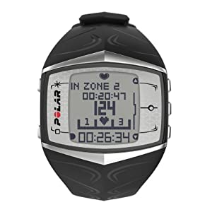 Polar FT60 Ladies Heart Rate Monitor Watch (Black) by Polar