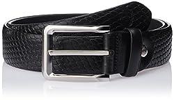 Allen Solly Men's Leather Belt (ASBLT515022_Black) (8907308119446)