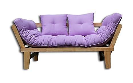 Sofá cama Sésamo-N-VI 200x82x32 cm