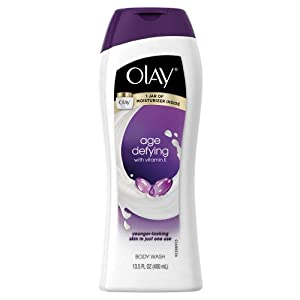 Olay Age Defying Moisturizing Body Wash With Vitamin E 13.5 Oz