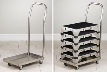 Fine Clinton Stainless Steel Stools Cart For Stacking Stools Sold Creativecarmelina Interior Chair Design Creativecarmelinacom
