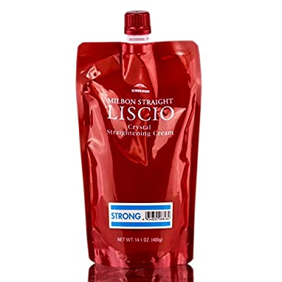 Milbon Straight Liscio Crystal Straightening Cream - Strong - 14.1 oz