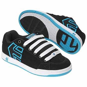etnies Women's Sheckler 3 Sneaker,Black