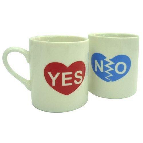 YES/NOマグ ジョークグッズ マグカップ