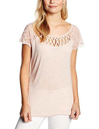 Morgan 161-DICA.N-T-shirt  Donna    Beige (Nude) 45