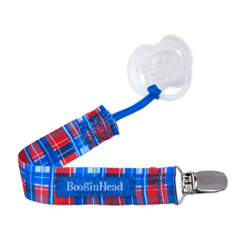 BooginHead PaciGrip Pacifier Leash, Cherry Pie