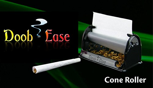 Premium-Cigarette-Doobie-and-Cone-Roller-by-Doob-Ease-Rolling-Machine-for-Perfect-Sized-Rolls-Every-Time-with-Shake-Catcher