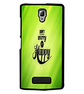 PrintDhaba Quote D-2682 Back Case Cover for LENOVO A2010 (Multi-Coloured)