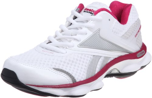 Reebok Women's Runtone Ready Textile White/Stiel Trainer V58588 3 UK, 35.5 EU