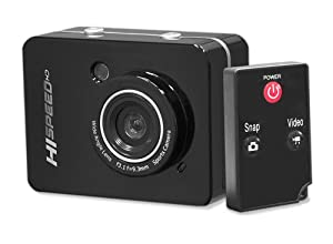 Pyle PSCHD60BK Hi-Speed HD 1080P Action Camera Hi-Res Digital Camera / Camcorder with Full HD Video, 12.0 Mega Pixel Camera, 2.4-Inch Touch Screen (Black)