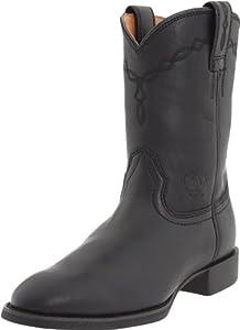 Ariat Men's Heritage Roper Boot,Black,11 M US