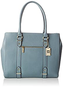 Anne Klein Military Luxe Tote,Blue Belle,One Size