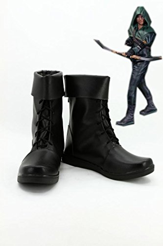New TV Series Men's Black Boots Cosplay Accessories