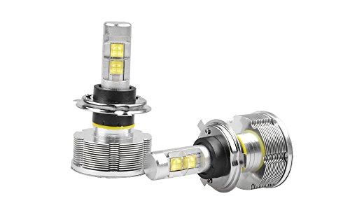 Suparee Cree Led 60W White Car Headlight H4 Kit Dc12-24V Hi Lo Lamp Replace Halogen Bulb Igniters Leds Headlights Led Conversion Kit