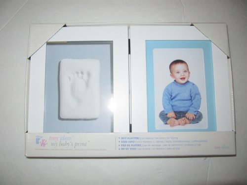 Tiny Ideas My Baby's Print Frame Set ( White )
