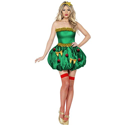 Festive Christmas Tree Adult Costume