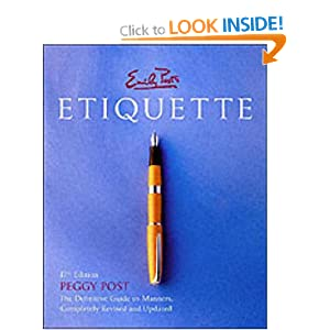 Emily Posts Etiquette: Amazon.co.uk: Emily Post: 9780066209579: Books
