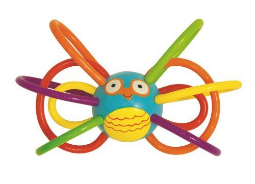 Manhattan Toy Zoo Winkel Owl Rattle and Sensory Teether
