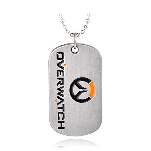 Overwatch Logo Keychain/Necklace