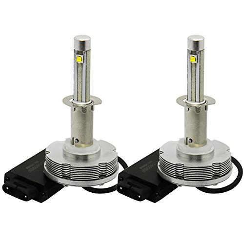 Jtech H1 Type High Power Cree Led Headlight - Replaces Halogen & Hid Bulbs