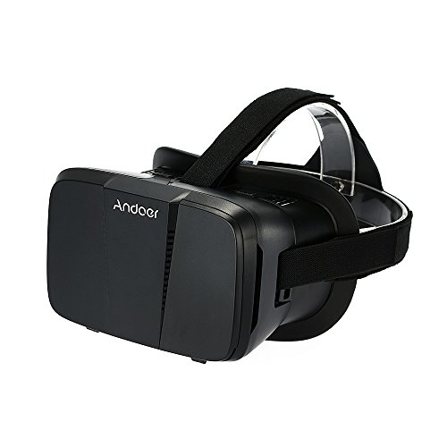 """Andoer® Portable 3D VR Glasses Virtual Reality VR Head Mount With Headband VR For All 3.5""""~6.0"""" Smartphone For iPhone 6 6Plus Samsung S6 S5 Note 4 3 HTC LG"""