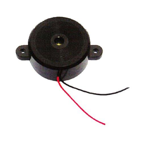 Generic Pack Of 100Pcs Electronic Piezo Speaker Dc12V 90Db 3000Hz Black Case Alarm Buzzer Electronic Components