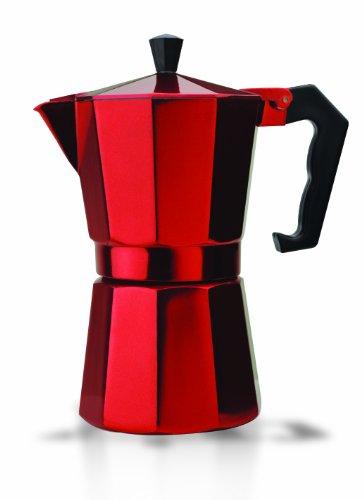 Primula PERE-3306 6-Cup Aluminum Espresso Coffee Maker, Red (Coffee Appliances compare prices)