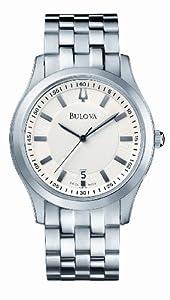 Bulova Stainless Steel Gents Criterion Bracelet Watch
