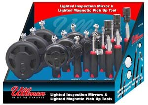 15-Piece Lighted Magnetic Pick-Up Tool And Inspection