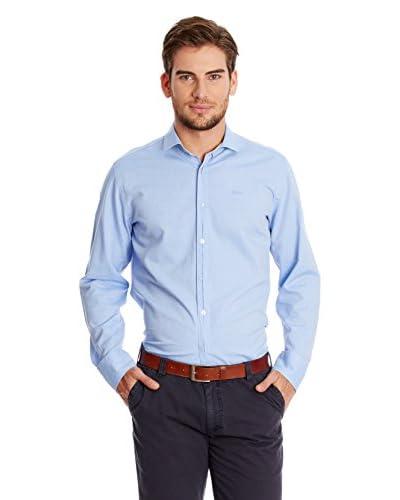 Fyord Camisa Hombre Azul Claro