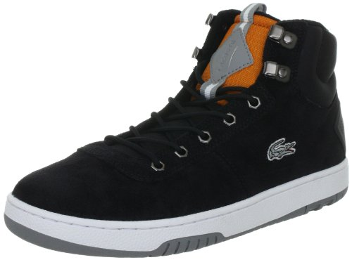 Lacoste Mens Raggi Ci blk/org Trainers Black Schwarz (BLK/ORG Z83) Size: 11 (45 EU)