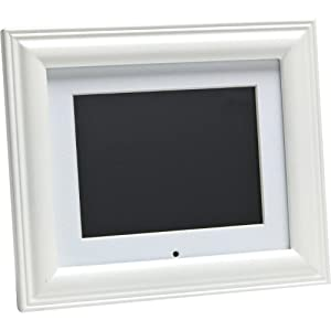 41at2xidV1L. SL500 AA300  VisionQuest VQA50 WD 5 Inch Digital Picture Frame (White Wood)   $20 + $0 Shipping