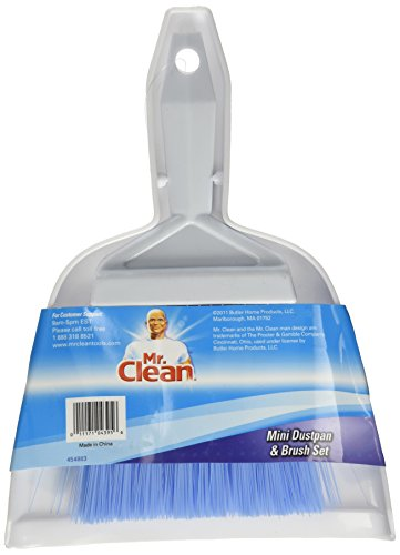 Mr. Clean Mini-Sweep Compact Dustpan And Brush Set (Broom With Cleaning Dust Pan compare prices)