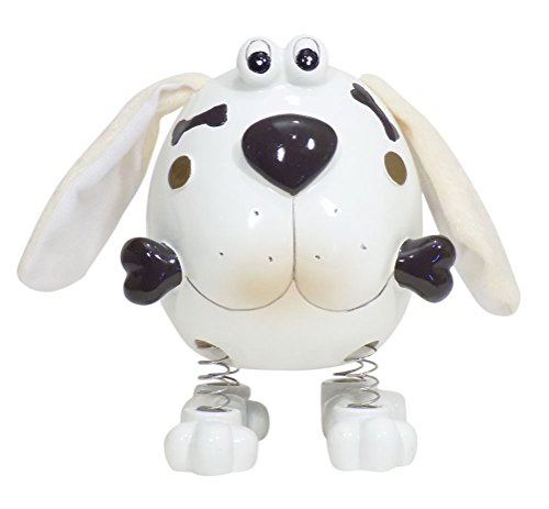Blow Fish Dog Bank with Spring Legs